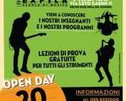 Open day scuola musica exfila 20 Gennaio