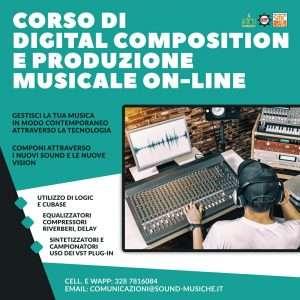 corso di digital composition e produzione musicale on-line